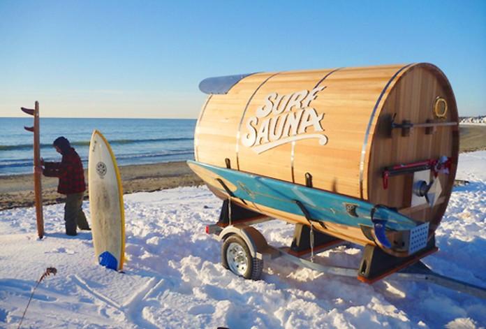 Mobilna Sauna